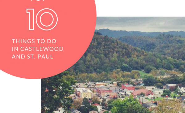 Short on Days: 10 Fantastic Things to Do in Castlewood & St. Paul Virginia