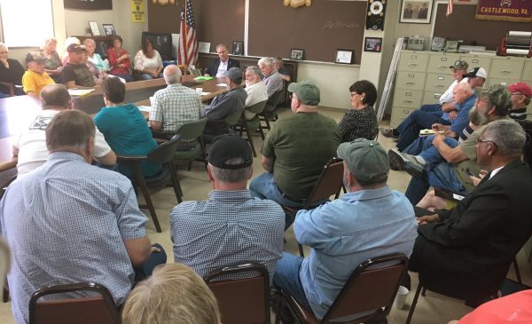 Senator Tim Kaine Makes a Stop in Castlewood on his SWVA Visit